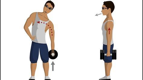dumbbell side bend abdominal exercises