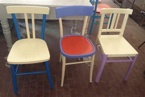 sedie colorate legno sedie legno colorate 29 mobili e arredamento vintage