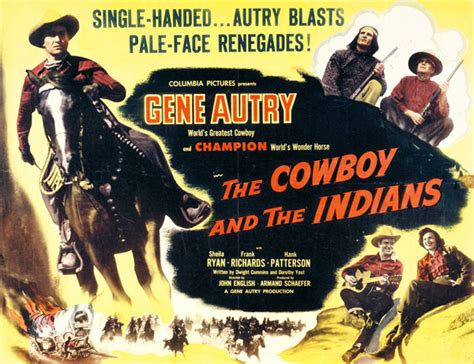 film indiani cowboy geneautry com film info the cowboy and the indians