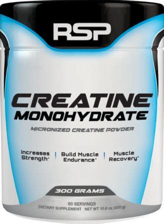 creatine price creatine monohydrate by rsp nutrition at bodybuilding