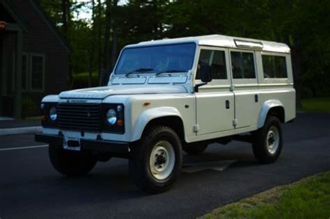 sell used land rover defender 110 in portland maine