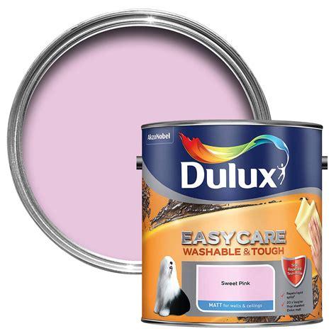 dulux easycare sweet pink matt emulsion paint