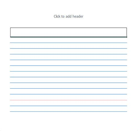 3x5 card template index card template 8 free documents in pdf