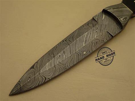 Custom Kitchen Knives by Professional Damascus Dagger Knife Custom Handmade