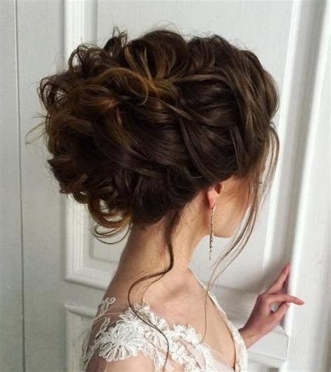 Wedding Hair Updo Curly 40 chic wedding hair updos for brides