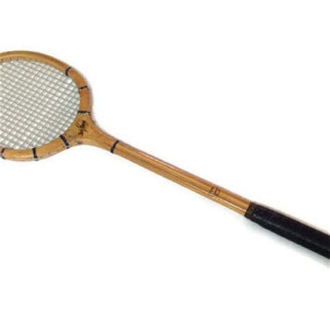 Raket Stroke vintage cragin simplex wood squash from rescuedintime on etsy