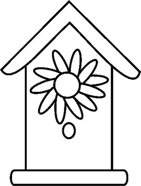 free coloring pages bird houses birdhouse 5 free printable birdhouse coloring pages