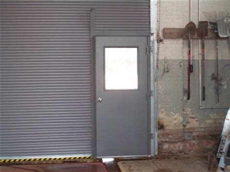Roll Down Door With Man Door Overhead Roll Up Door
