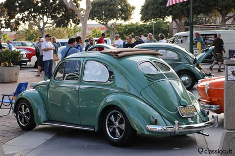 porsche wheels on vw dkp pre cruise 2016 ca usa classiccult
