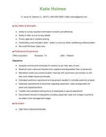 truck dispatcher resume sle dispatcher resume sle pretty inspiration dispatcher