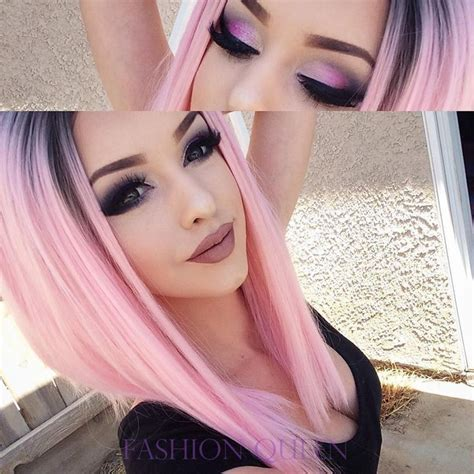 Black And Pink Hairstyles by Pink Hair Www Pixshark Images Galleries With
