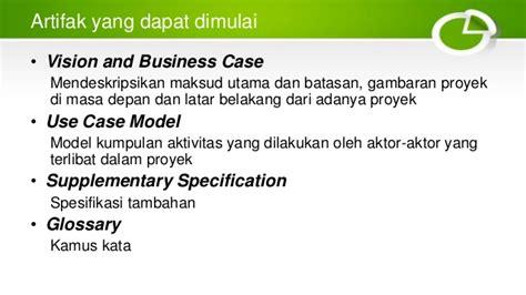 cara membuat use case specification fase insepsi pada rup
