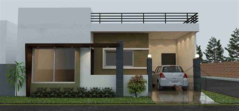 single story house elevation singl story story house design punjab modern house