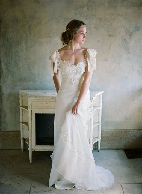 Vintage Chic Wedding Dresses by Wedding Inspiration With Refined Elegance At