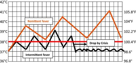 fever pattern types vital signs flashcards easy notecards