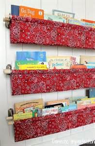 how to make a sling bookshelf craftionary