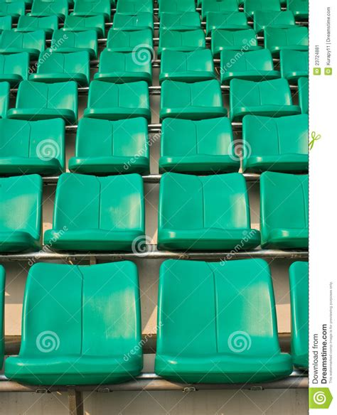 what are seats at a football seat football stadium stock image image 23724881