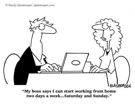 how comics work working at home randy glasbergen glasbergen cartoon service