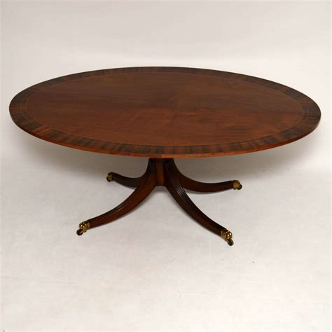 antique oval dining tables for sale antique inlaid mahogany rosewood oval dining table