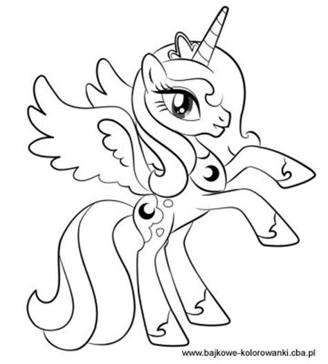 my little pony coloring pages princess cadence filly my little pony my little pony kolorowanki bajkowe