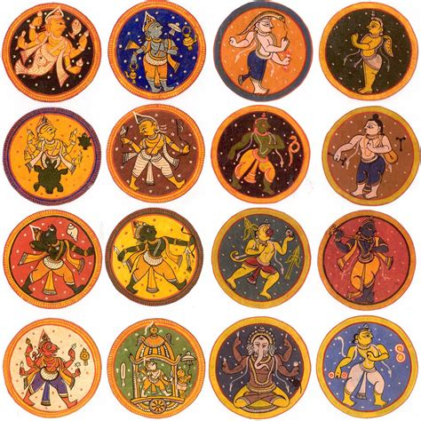 Gift Card In India - dasavatara ganjifa from india the world of playing cards