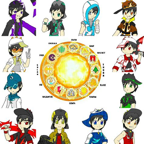 Boboiboy Solar Picture And Images