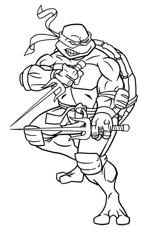 raphael ninja turtle coloring pages printable coloriage raphael tortue ninja ballotine pinterest