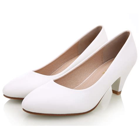 white high heels pumps womens shoes white pumps