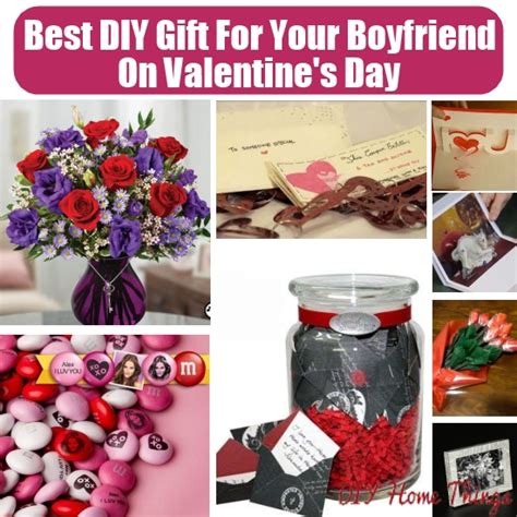 gifts for boyfriend for valentines day best diy gifts for your boyfriend on valentines day diy