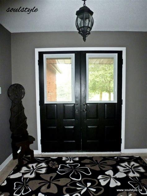 Paint It Black Soulstyle Interiors And Design Black Interior Front Door