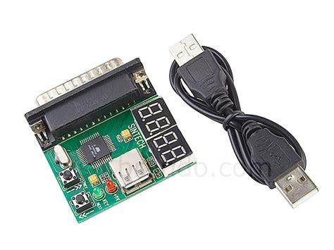 Debug Card Usb computer motherboard debug card parallel port 4 digital leds