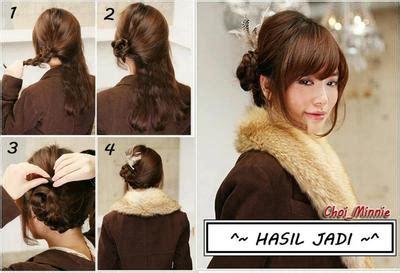cara cepol rambut ke kantor inilah gaya rambut ala korea yang hits banget fashion
