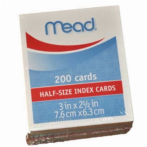 Mead Ruled Index Cards Template by 100 Oxford Blank Index Oxford Blank