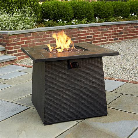 Garden Oasis 24 Quot Fire Table With Tile Look Top Outdoor Garden Oasis Patio Heater