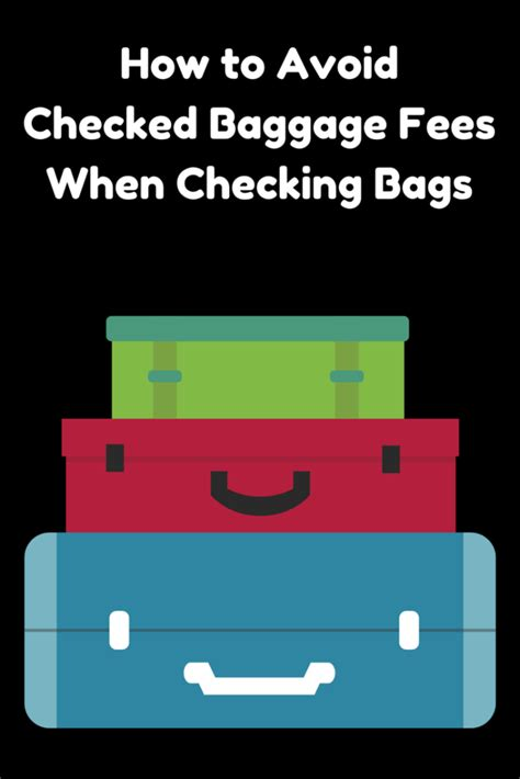 checked baggage fees united how to avoid checked baggage fees when checking bags