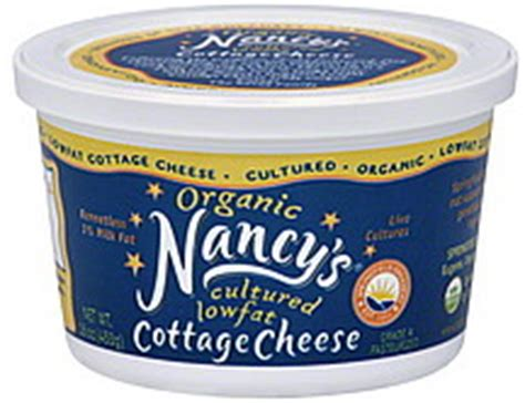 nancys cottage cheese organic cultured 1 milk fat