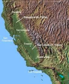 geography map of california map of central california area pictures california map