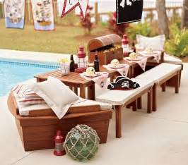 pottery barn chesapeake cushions chesapeake picnic table boat bow bench cushion