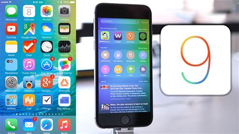 iphone layout ios 9 ios 9 beta installation overview iphone ipod touch