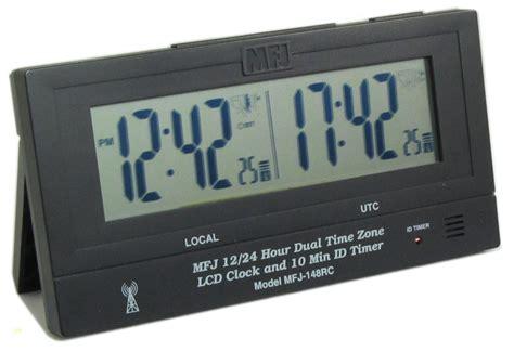 Jm Lu Led Colok mfj 148rc clock mfj148rc dual clock