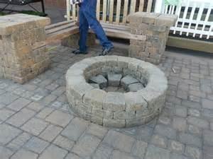 Diy Patio Seating Brick Benches Backyard Pinterest