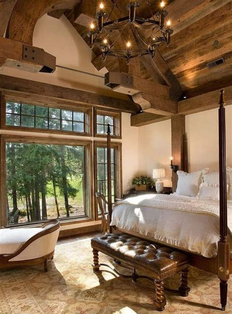 Rustic Interior Design 56 Extraordinary Rustic Log Home Bedrooms Style Estate