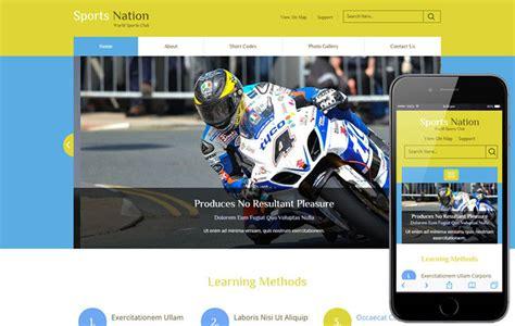 18 Free Premium Bootstrap Responsive Sport Templates Designerslib Com Sports Handicapper Website Templates