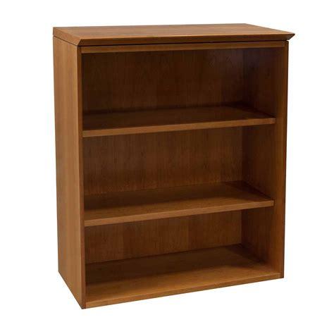 herman miller geiger used 3 shelf bookcase cherry