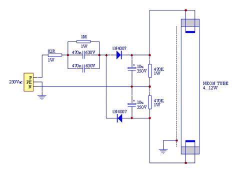 t8 fluorescent ballast wiring diagram get free image