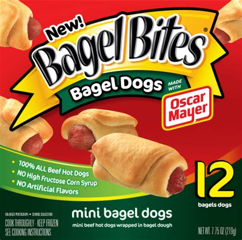 bagel dogs bagel bites 174 mini bagel dogs are for after school snacking business wire