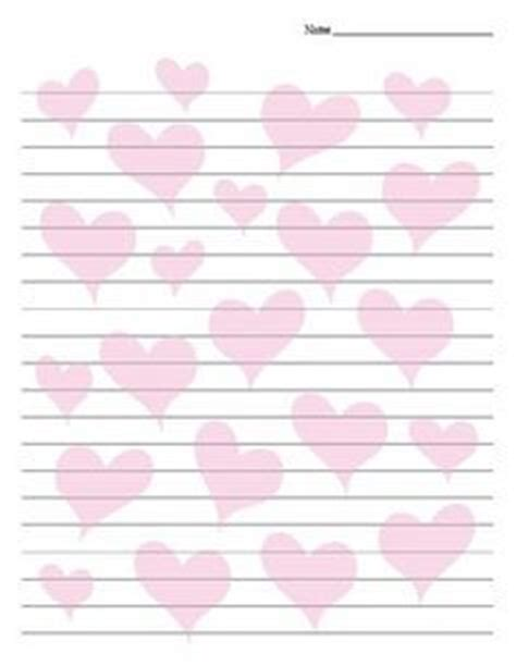 printable lined paper with heart border free valentines stationery paper valentine writing paper