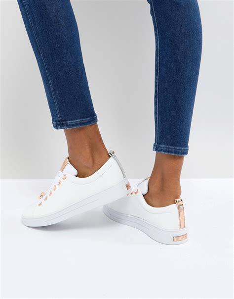 Komono Original White Leather 4 ted baker kellei white leather sneakers white in white gold leather modesens