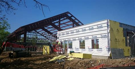 Green St Louis Construction Mba by Bex Construction Services Completes New Steel Structure