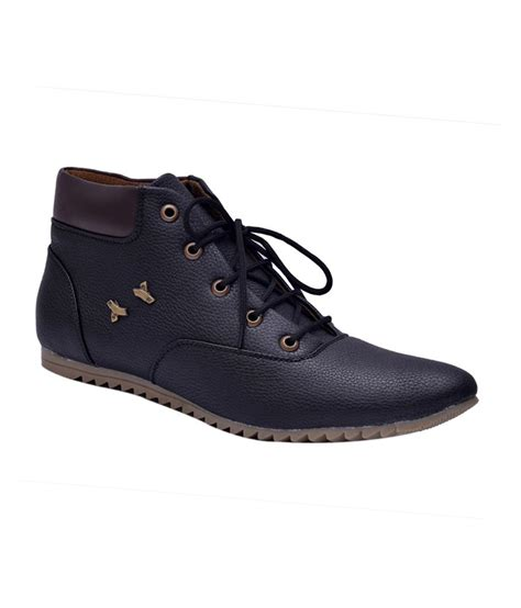 mens designer black boots sir corbett black designer lace mens boots price in india